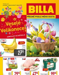 BILLA Vedlejší leták od středy 1. 4., 1. 4. – 7. 4. 2015