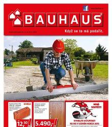 Akční leták BAUHAUS Katalog duben 2015