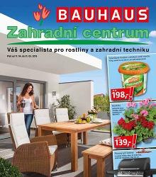 Akční leták BAUHAUS Katalog Zahradní centrum II
