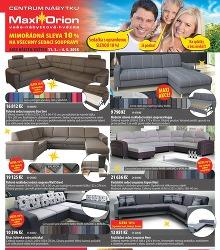 Akční leták Maxi Orion akce březen / květen