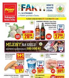 Akční leták Penny Market od pondělí 27.4.