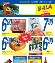 Akční leták Bala cenová nabídka