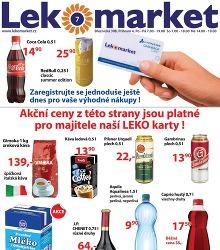 Akční leták LeKo Market