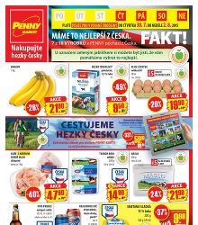 Akční leták Penny Market od čtvrtka 30.7. platný pro vybrané prodejny