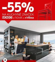 Akční leták XXXLutz XXXL - 55% NA KUCHYNĚ ZNAČEK