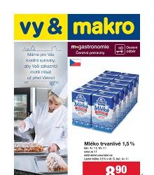 Akční leták Makro Gastronomie čerstvé potraviny