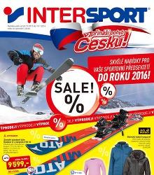 Akční leták Intersport