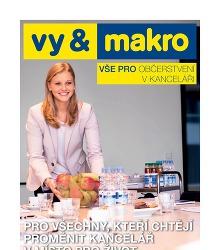 Akční leták Makro Vše pro občerstvení v kanceláři 2015 - 2016