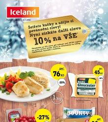 Akční leták Iceland