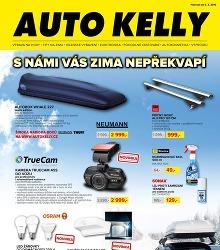 Akční leták Auto Kelly