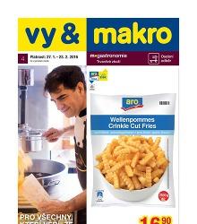 Akční leták Makro Gastronomie trvanlivé zboží