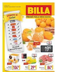BILLA Leták od středy 3.2., 3. 2. – 9. 2. 2016