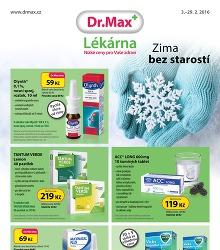 Akční leták Dr. Max lékárna