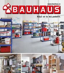 Akční leták BAUHAUS Regály a regálové systémy 2016