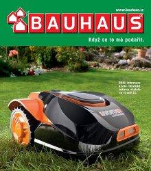 Akční leták BAUHAUS Zahradní technika