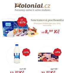 Akční leták Koloniál.cz