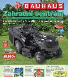 Akční leták BAUHAUS Zahradní centrum II
