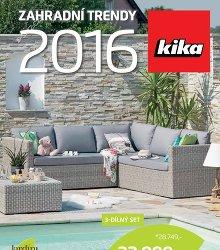 Akční leták Kika Zahradní katalog