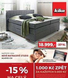 Akční leták Kika Inspirace pro vaše bydlení
