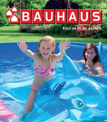 Akční leták BAUHAUS Bazény 2016