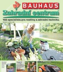 Akční leták BAUHAUS Zahradní centrum