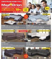 Akční leták Maxiorion