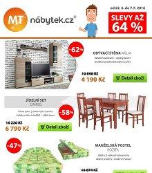 Akční leták MT-nábytek.cz