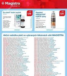 Akční leták Magistra Lékárny
