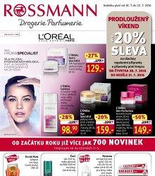 Akční leták Rossmann