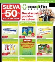 Akční leták Lékárny Medifin