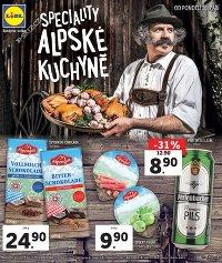 Lidl Alpské speciality, 26. 9. – 2. 10. 2016
