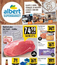 Akční leták Albert Supermarket