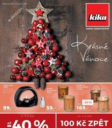 Akční leták Kika Krásné Vánoce!