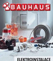 Akční leták BAUHAUS - Katalog elektroinstalace 2017