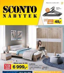 Akční leták Sconto nábytek