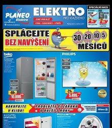Akční leták Planeo Elektro
