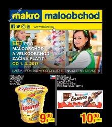 Akční leták Makro Maloobchod
