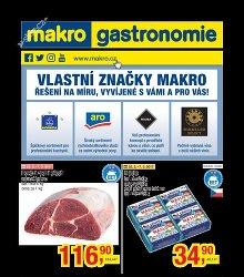 Akční leták Makro Gastronomie