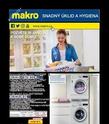 Akční leták Makro Úklid a hygiena