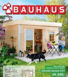 Akční leták BAUHAUS - Katalog zahradní domky