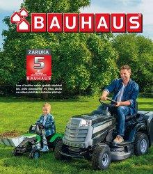 Akční leták BAUHAUS - Katalog zahradní technika