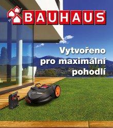 Akční leták BAUHAUS - Brožura Robotické sekačky WORX