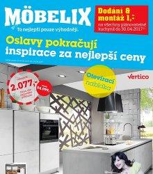 Akční leták MÖBELIX Platnost 03.04.2017 - 30.04.2017