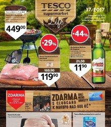 Akční leták TESCO Leták Supermarkety
