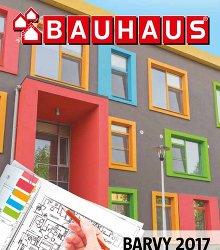 Akční leták BAUHAUS - Katalog Barvy 2017