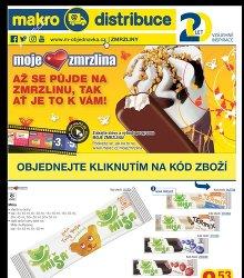 Akční leták Makro Zmrzliny-distribuce