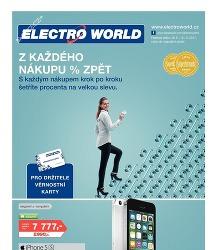 Akční leták Electroworld