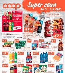 Akční leták COOP Super cena