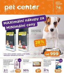 Akční leták Pet Center