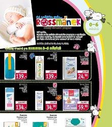 Akční leták Rossmánek leták - pro děti 0 - 6 měsíců
